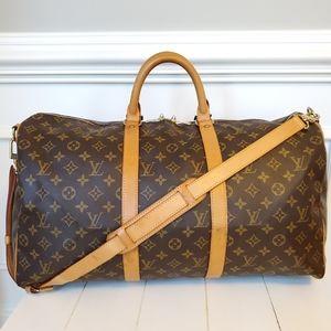 Louis Vuitton Keepall Bandouliere 50 Duffel